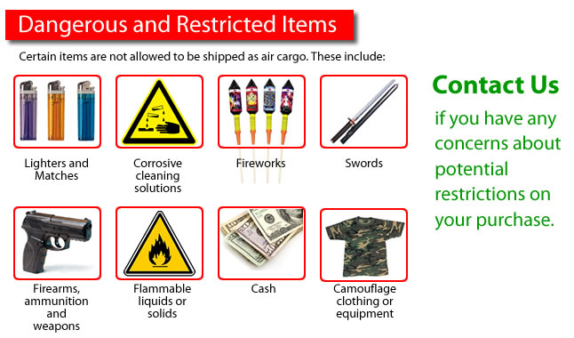 Dangerous and Restricted Items